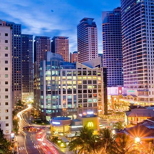 Condominiums in Eastwood, Quezon City