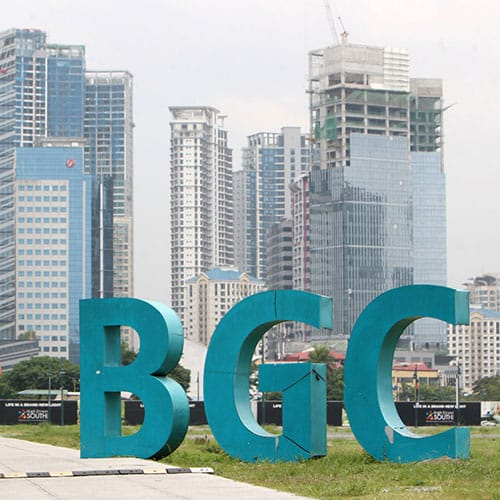 Condominiums in Bonifacio Gobal City, Taguig